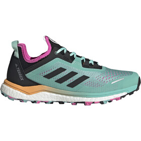 adidas TERREX Agravic Flow Trail Running Shoes Women, acid mint/core black/screaming pink